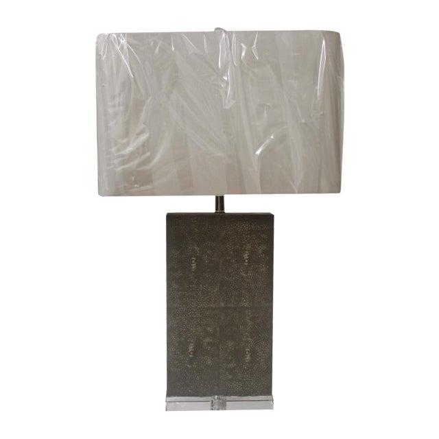 Shagreen Column Lamp - Image 1 of 6