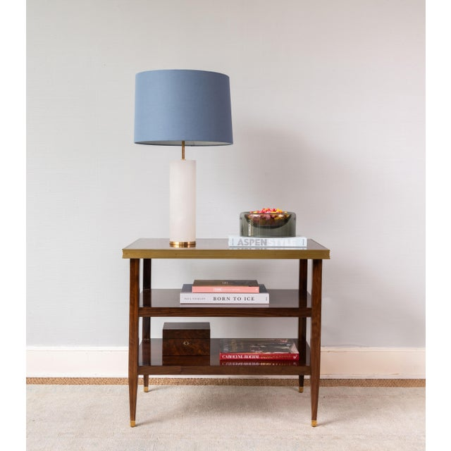 Bringing the best of form and function, the Morgan Side Table is generously sized to allow for accessorizing. Composed of...