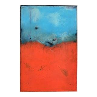 Allure, Ii. Oil, Pastel on Framed Panel 2018 by C. Damien Fox For Sale