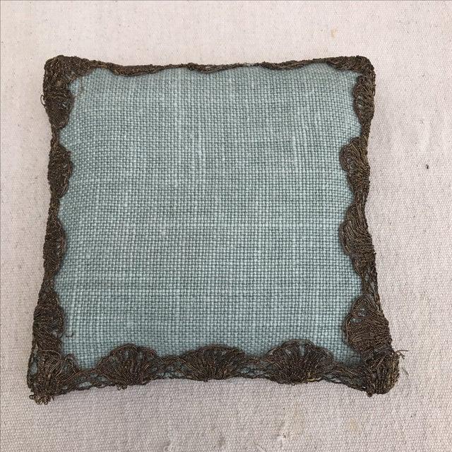 Appliqued Linen Lavender Sachet - Image 4 of 4