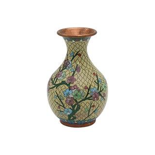 Vintage French Cloisonné Bud Vase For Sale