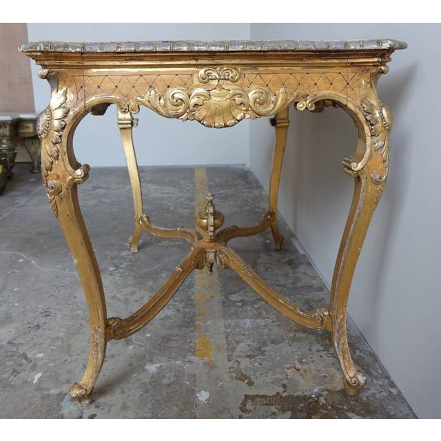 19th Century French Shell Design Table - Image 7 of 9