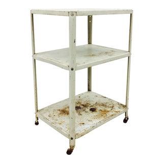 Antique Rustic Medical Cart