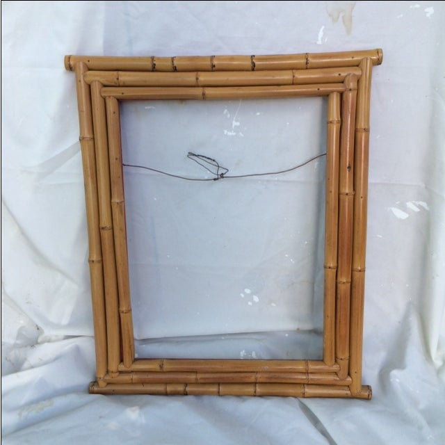 Bamboo Picture or Mirror Frame - Image 2 of 4