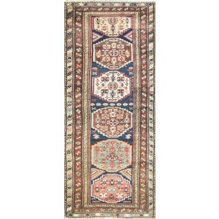 "1910s Antique Persian Bakhtiari Runner-3'1"" X 8'4"" For Sale"