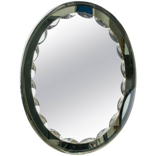 Italian Cristal Art Mirror For Sale