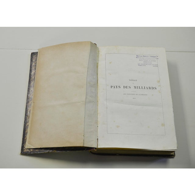 Voyage Au Pays Des Milliards, French Book For Sale - Image 5 of 7