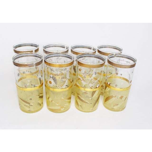 1960s Mid-Century Georges Briard Highball Glasses - Set of 8 For Sale - Image 5 of 9