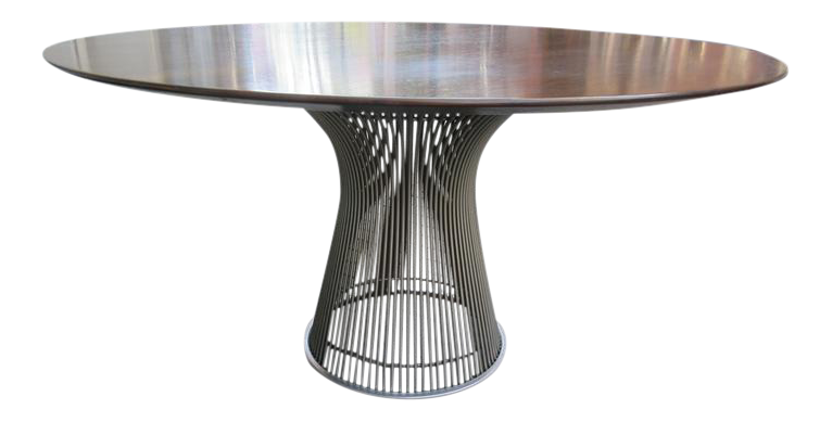 Warren Platner For Knoll Rosewood Dining Table   Image 1 Of 5