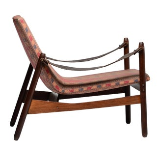 Jorge Zalszupin Ipanema Chair Jacaranda Brazilian Mid Century Modern For Sale