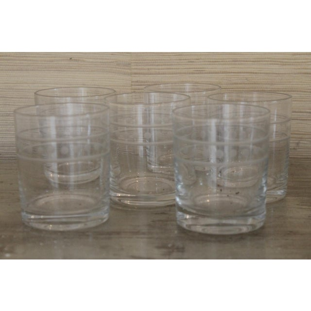 Traditional Global Views Double Old Fashion Glasses - Set of 6 For Sale - Image 3 of 7