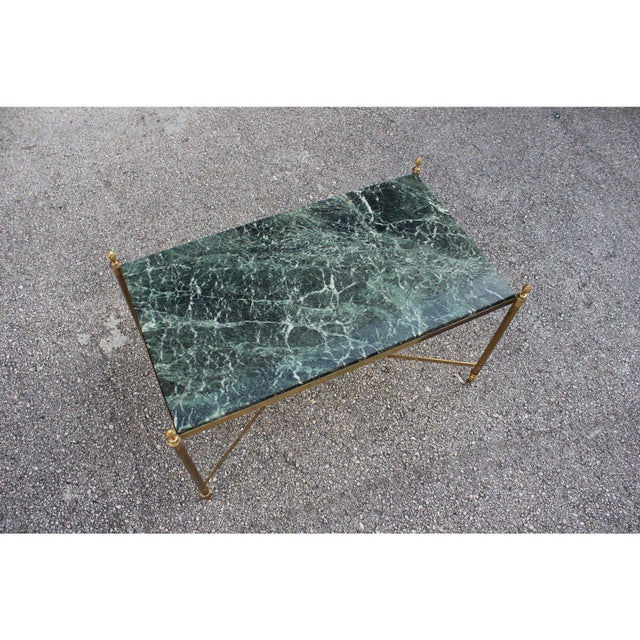 Maison Jansen 1940s Vintage French Maison Jansen Coffee Table For Sale - Image 4 of 13