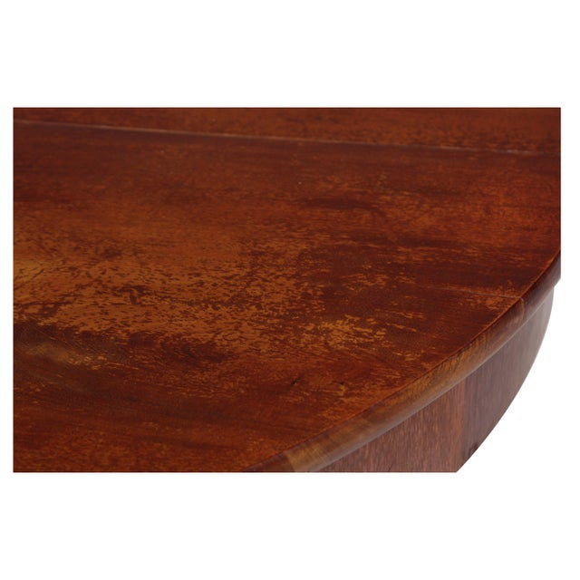Brown Antique Directoire-Style Dining Table For Sale - Image 8 of 8