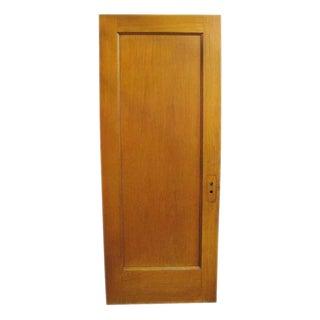 Single Panel Oak Door