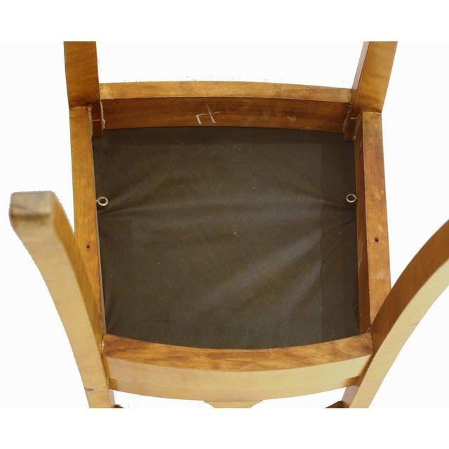 Birch Set of Six Chairs, by Anton Kjaer, Copenhagen For Sale - Image 7 of 8