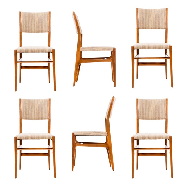 Set of 6 Gio Ponti Dining Chairs For Sale - Image 10 of 10