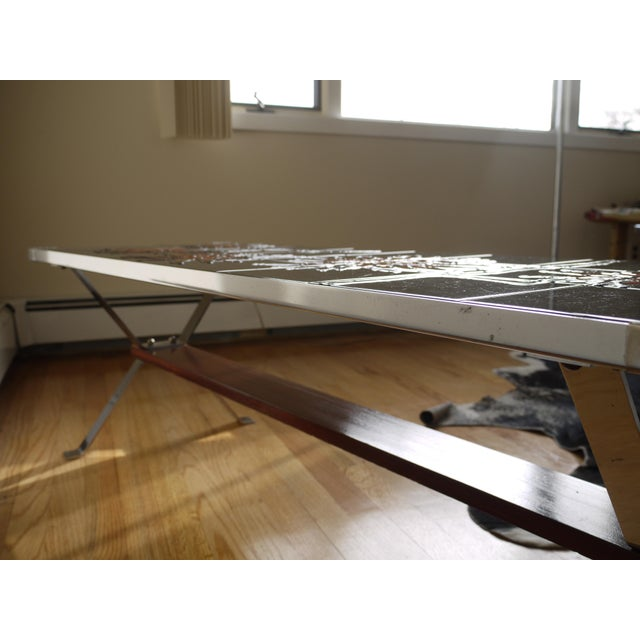 1960s Bold Vallauris Tile Low Table For Sale - Image 10 of 11