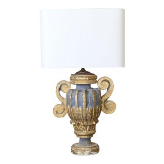 Custom Polychrome Italian Lamp For Sale