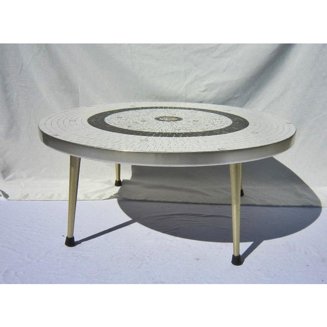 Mid-Century Tile Coffee Table - Image 4 of 6