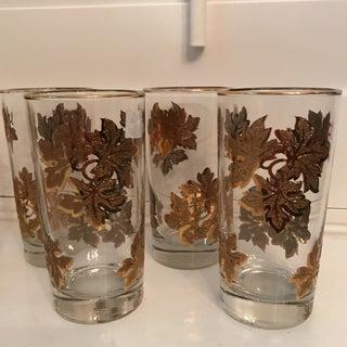 Golden Leaf Cocktail Glasses - Set of 6 Preview