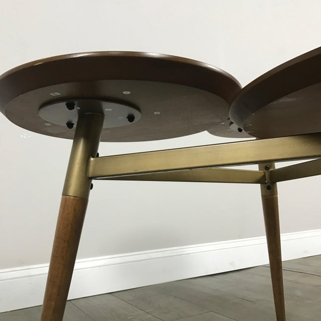 West Elm Mid-Century Modern Tri Surface Coffee Table - Image 6 of 7