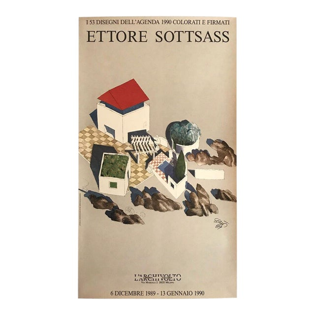 Ettore Sottsass Poster For Sale