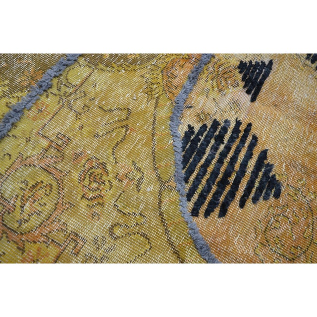 Overdyed Handmade Rug - 5′8″ × 8′10″ For Sale In Austin - Image 6 of 6