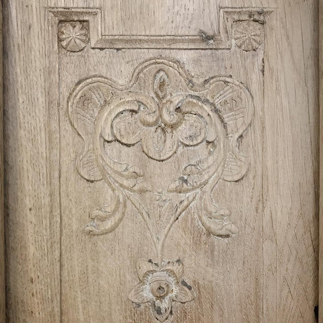 Gold Grand 19th Century Country French Louis XVI Corner Cabinet For Sale - Image 8 of 13