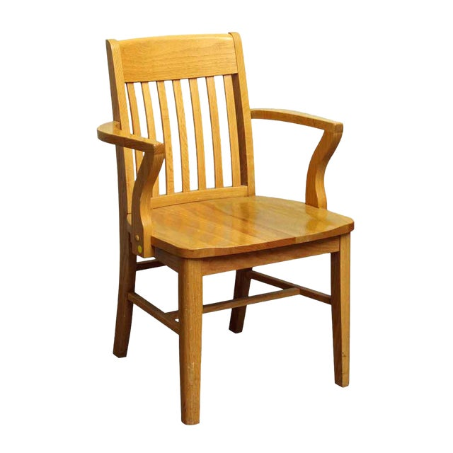 Single Light Wooden Chair - Image 1 of 4