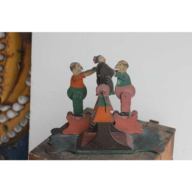 1900's Hand Made Articulated Folk Art Toy - Image 4 of 4