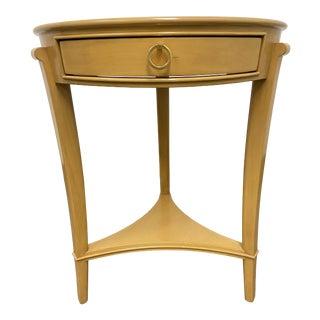 Nancy Corzine Borgi Blonde Side Table For Sale
