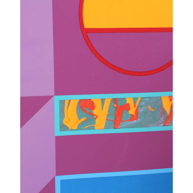 Artist: Carmen Cicero, American (1926 - ) Title: Untitled 4 Year: circa 1971 Medium: Silkscreen, signed and numbered in...