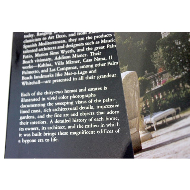 """American 1st Ed 1991 Rizzoli """"Palm Beach Houses"""" Coffee Table Book by Shirley Johnston For Sale - Image 3 of 13"""