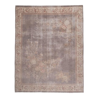 Antique Chinese Peking Rug With Chinoiserie Style 7'8'' X 9'8'' For Sale