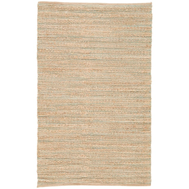 Jaipur Living Canterbury Natural Solid Tan & Green Area Rug - 5' X 8' For Sale In Atlanta - Image 6 of 6