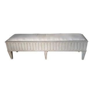 Vintage Swedish Gustavian Long Bench