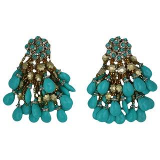 Massive Italian Earrings by Coppola + Toppo For Sale