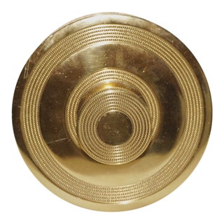 "Mid-Century Large Round Brass Doorknob, ""Calcutta"" #3570 by Schlage For Sale"