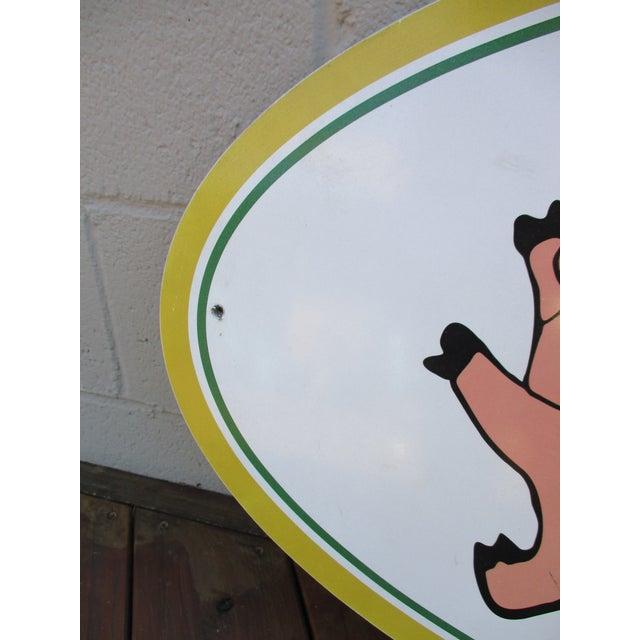 Vintage Wood Pig & Butcher Sign - Image 8 of 9