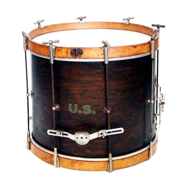 1930'S U.S. Military Rod Drum For Sale