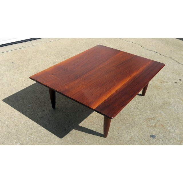 Mid-Century Low Coffee Table - Image 3 of 6