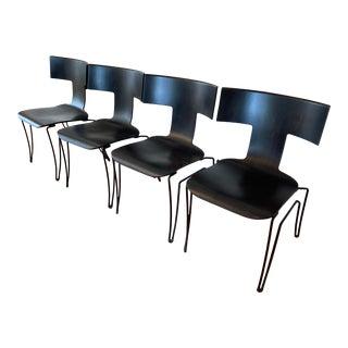 1980s John Hutton Designer Chairs - Set of 4