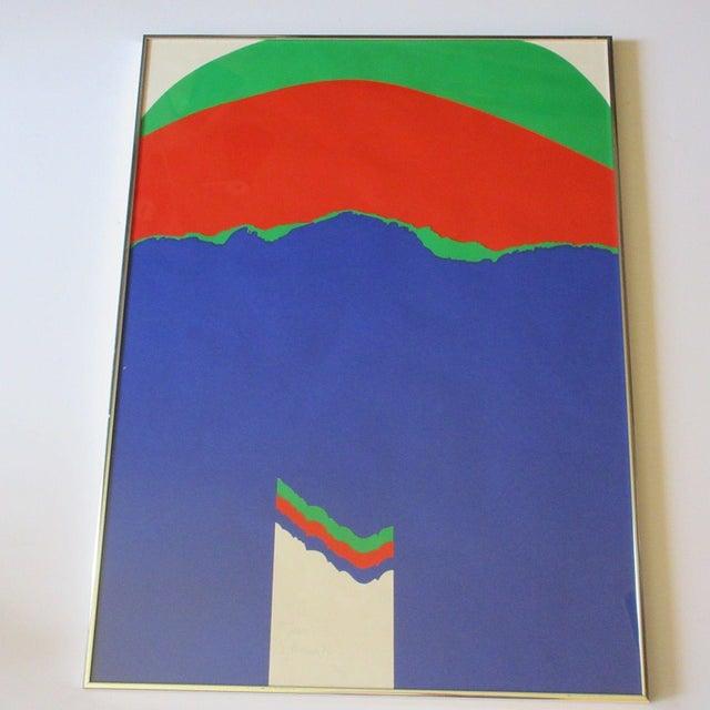 Screen Print 1972 Pop Art Silkscreen by Kramer For Sale - Image 7 of 7