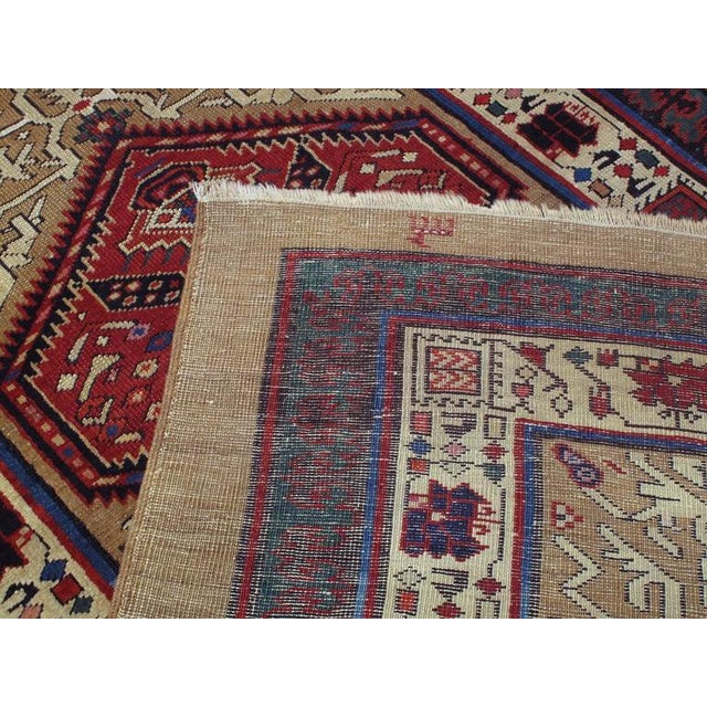 Textile Antique Serab Long Rug For Sale - Image 7 of 8