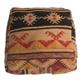Vintage Stuffed Morrocan Pouf