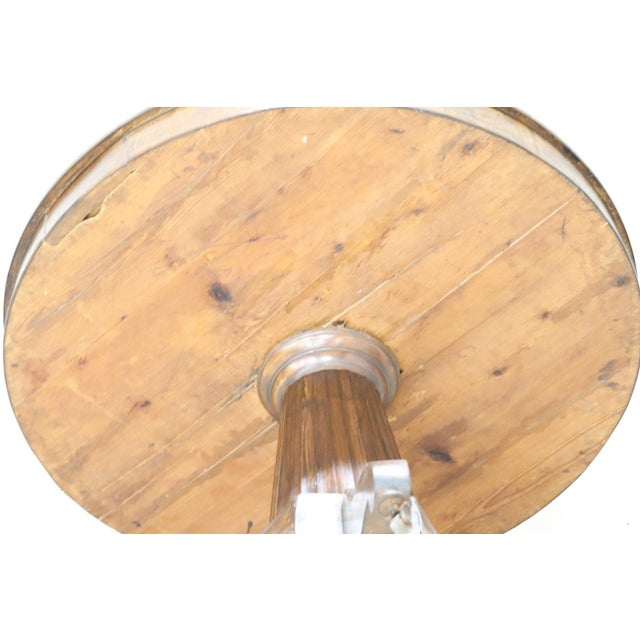 Empire 19th Century Empire Walnut Round Centre Table For Sale - Image 3 of 12