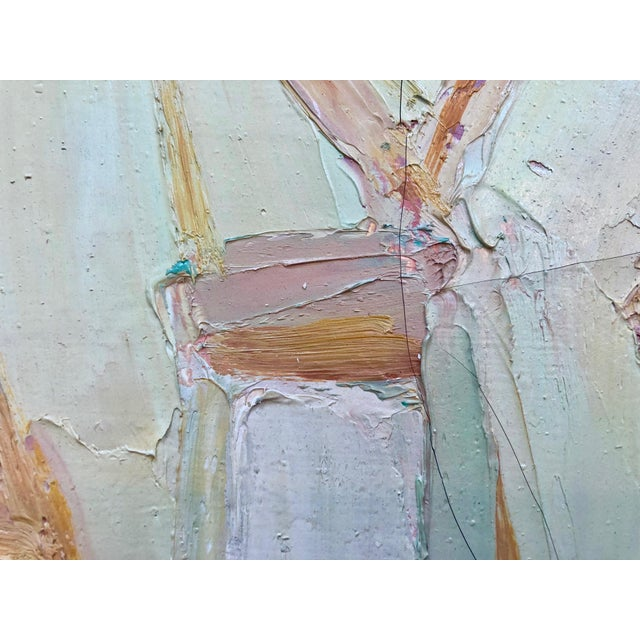 Abstract 1962 Andre Lauran Still Life Painting For Sale - Image 3 of 4