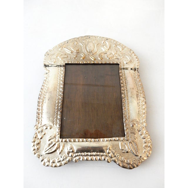 Colonial Style Silver Picture Frame - Image 3 of 8