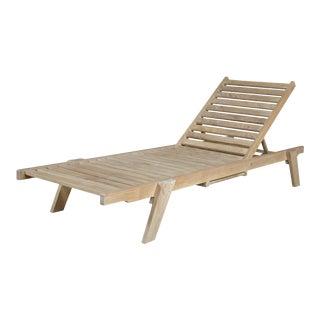 Niagara Teak Stacking Lounge Chair For Sale