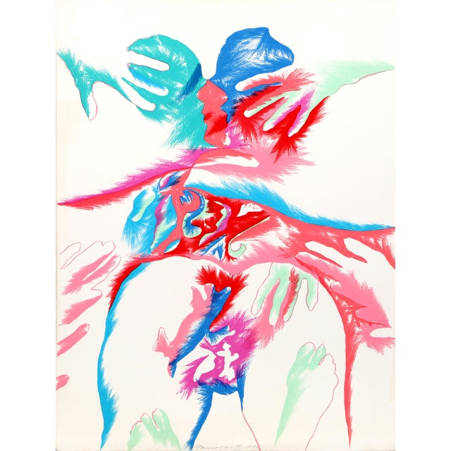 Modern Marisol Escobar, Meeting of the Universe, Lithograph For Sale - Image 3 of 3